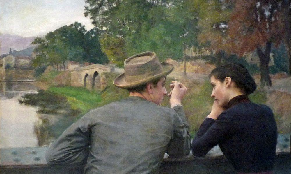 Carlo I Penelope Smyth- quadro di Emile Friant, Les Amoureux