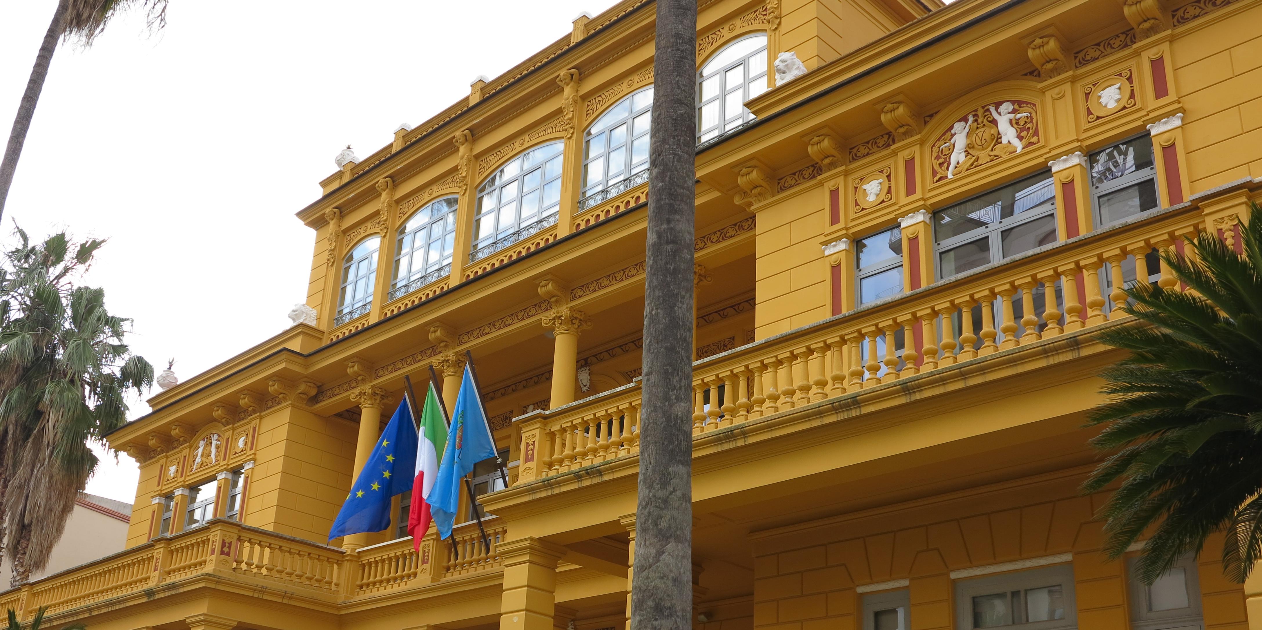 Villa Vitrone - Particolare dell'ingresso