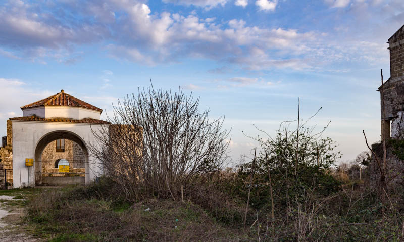 Castello angioino aragonese con Dogana e seminario