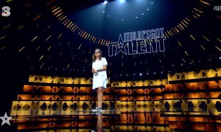 Aurora Leone Italia's Got Talent - Aurora sul palco