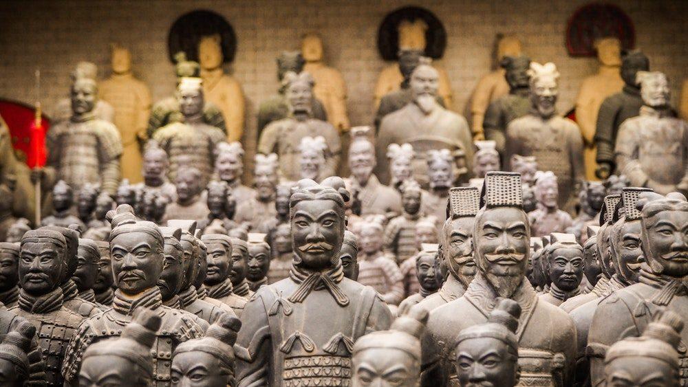 Esercito Di Terracotta Reggia di Caserta - foto delle statue