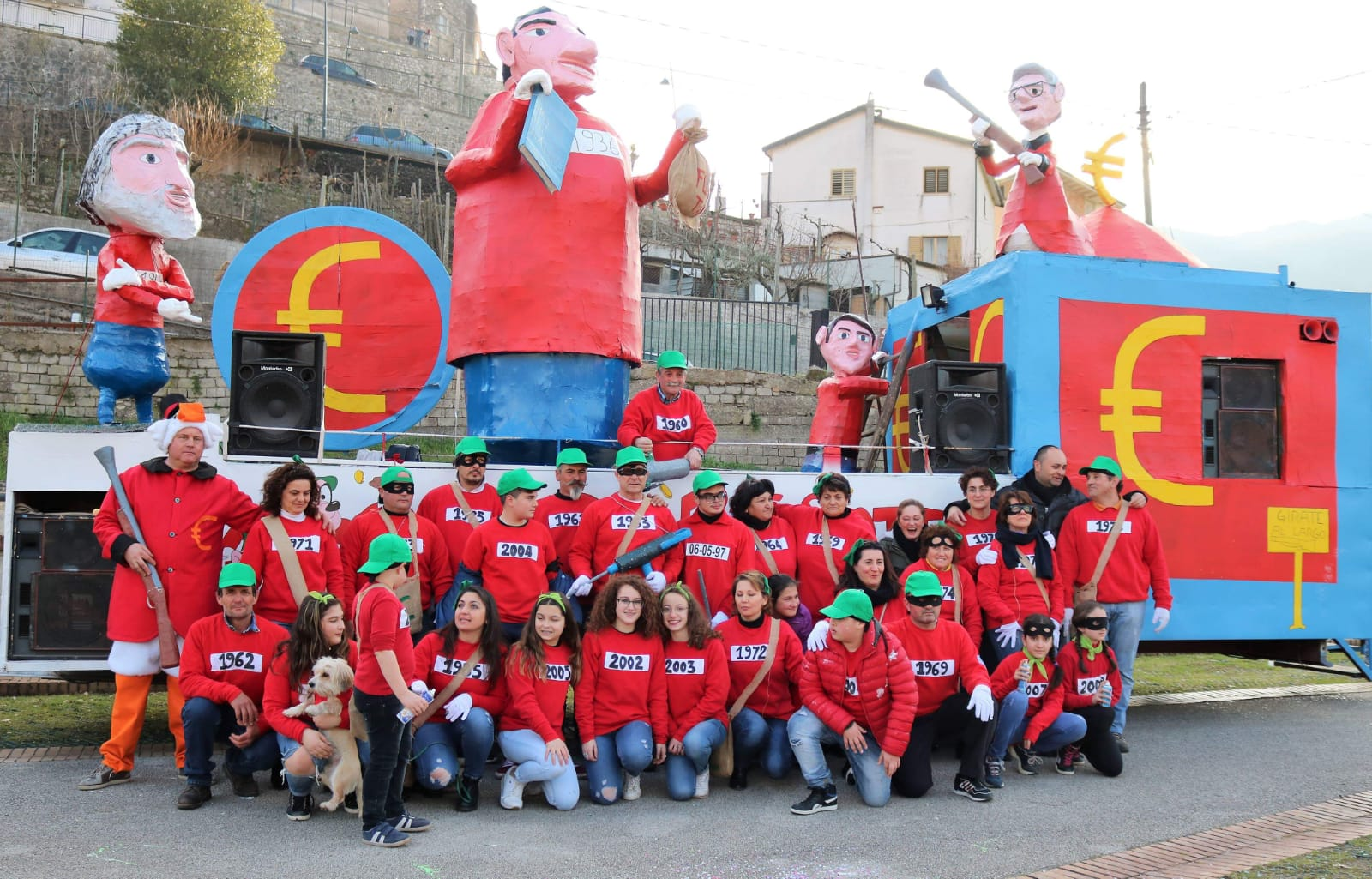 Carnevale di Pratella 2019 - Foto di alcuni ragazzi della Pro Loco