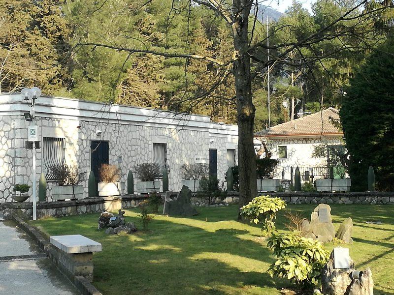 museo Sacrario Monte Lungo giardino