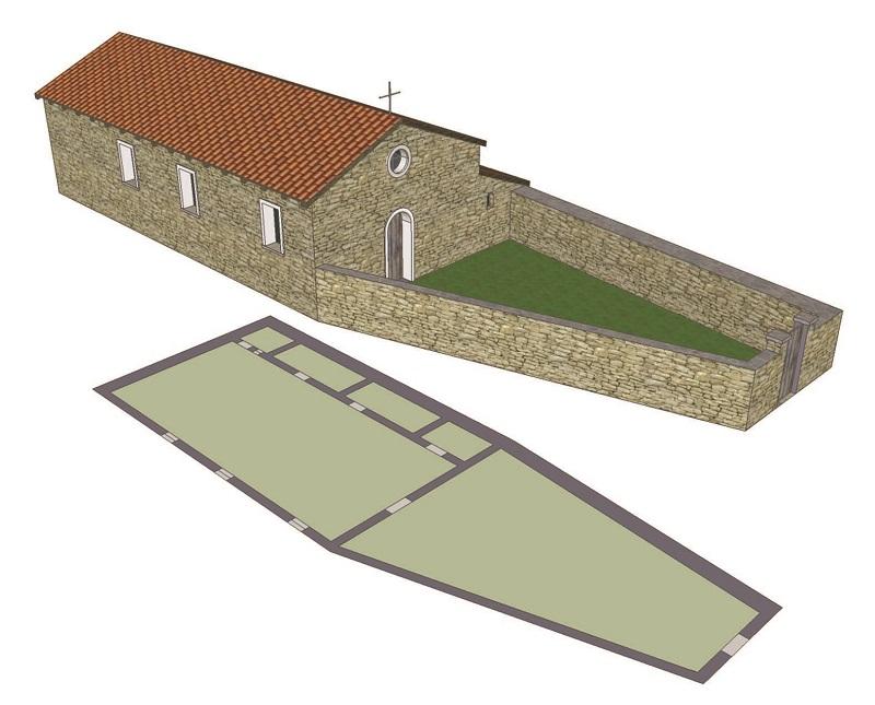 Grangia cistercense struttura