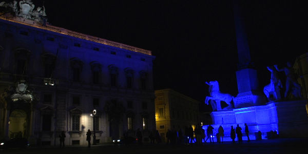 Light It Up Blue Autismo Incontra L'arte Roma