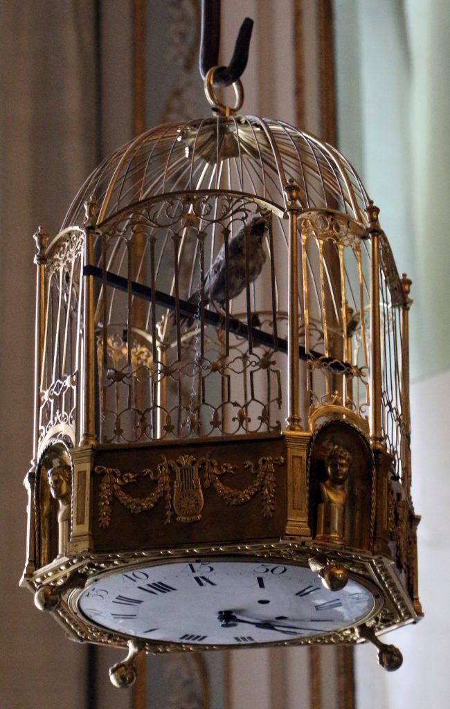 Orologi Della Reggia - la gabbia