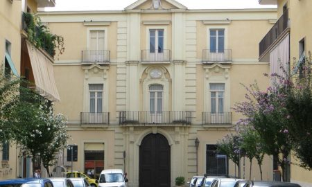 Palazzo Paternò visto da via Ferrara