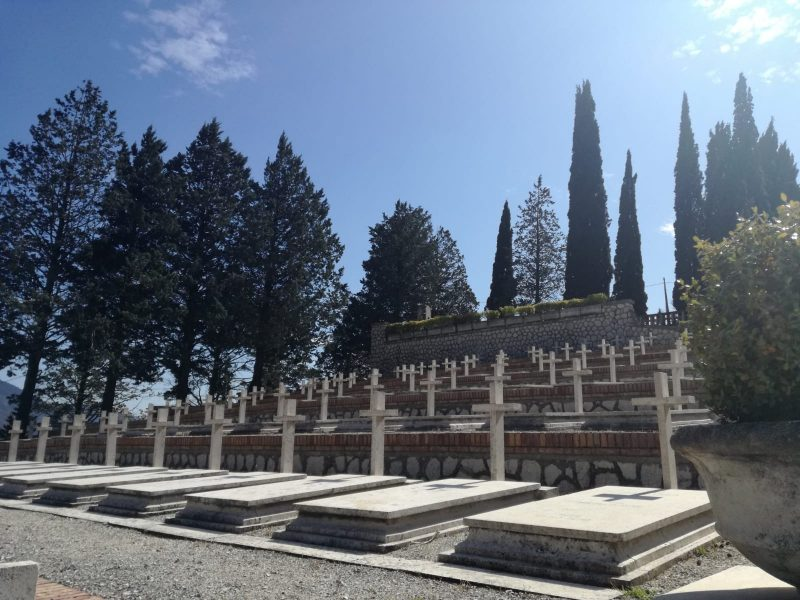 museo Sacrario Monte Lungo - le tombe