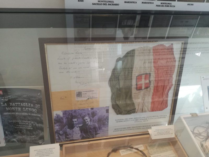 museo Sacrario Monte Lungo - reperti