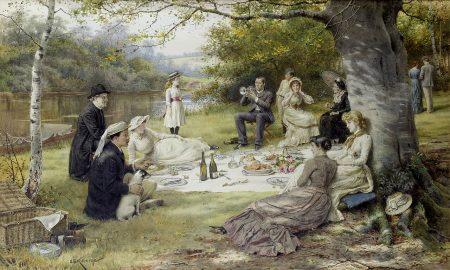 Pasquetta 2019 a Caserta - quadro di George Goodwin