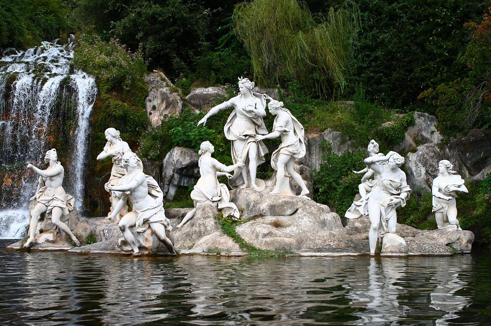 Fontana di Eolo - Fontana Di Diana E Atteone