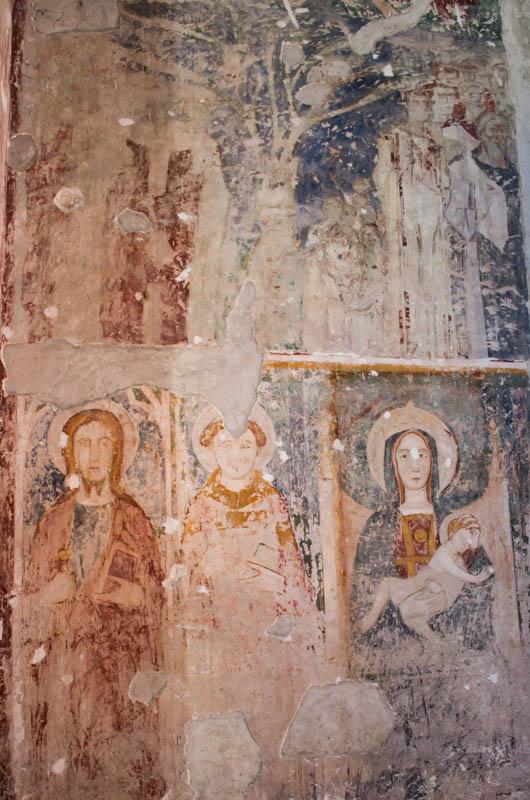 Particolare Controffacciata San Pietro Ad Montes