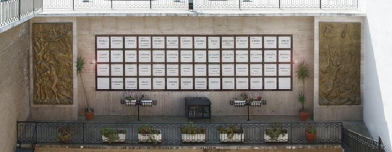 Strage di bellona - Mausoleo Ossario dei 54 martiri di Bellona