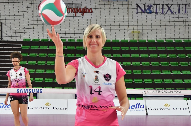 Elisa Cella, capitano della Volalto