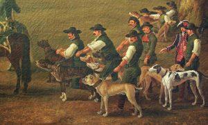I Borbone E I Cani da Caccia Di Ferdinando Iv Ph. Hackert