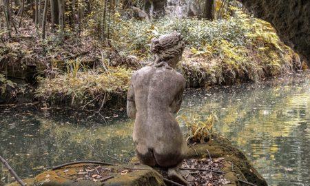 Simboli giardino di venere - la statua di Venere