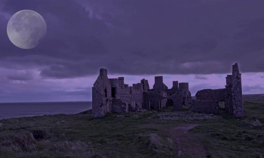 Castello di casaluce di Notte