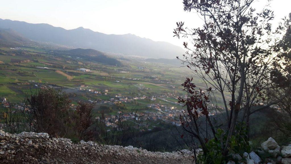 Visita sulla via dei Teatri di Pietravairano Teano - panorama