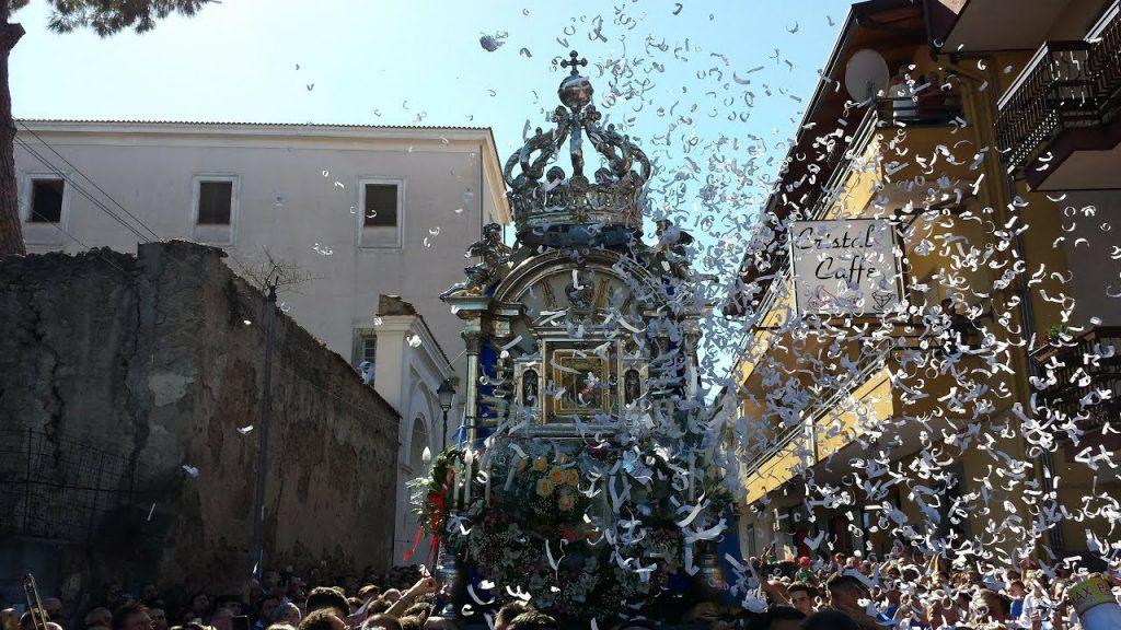Castello di Casaluce e Madonna di Casaluce - Il Ritorno Della Madonna Di Casaluce