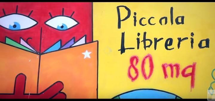 Piccola Libreria 80mq: i libri sul muro