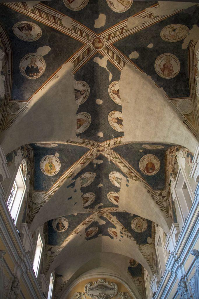 Castello di Casaluce e Madonna di Casaluce - Soffitto Min