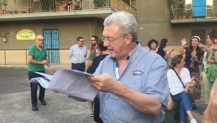 Alberto Zaza Daulisio in favore del boschetto di Centurano