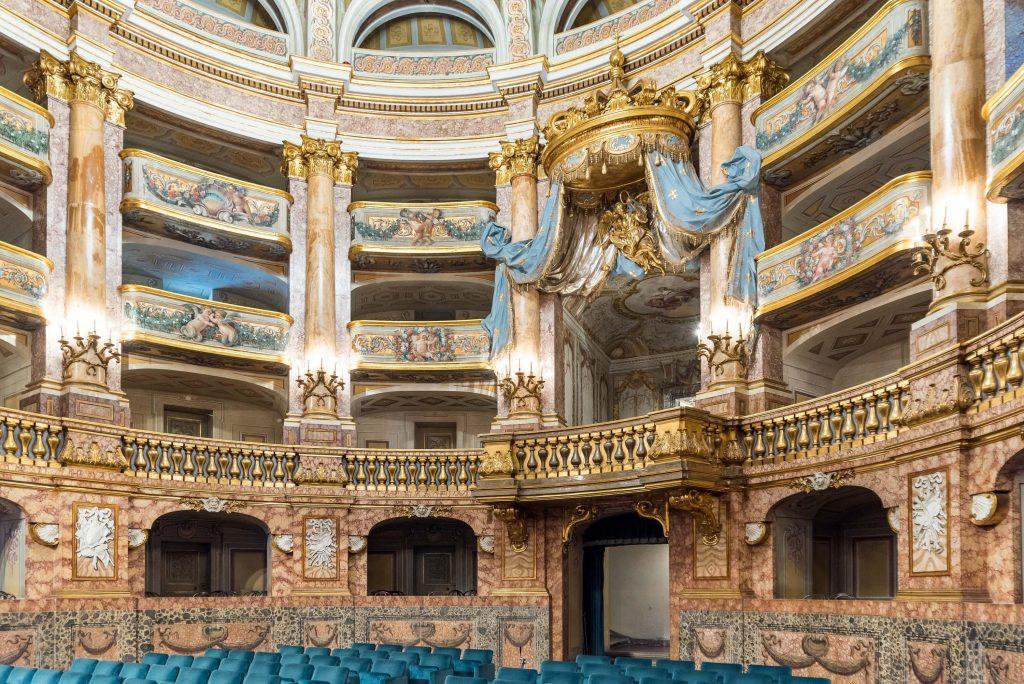 Il teatro Della Reggia - interno
