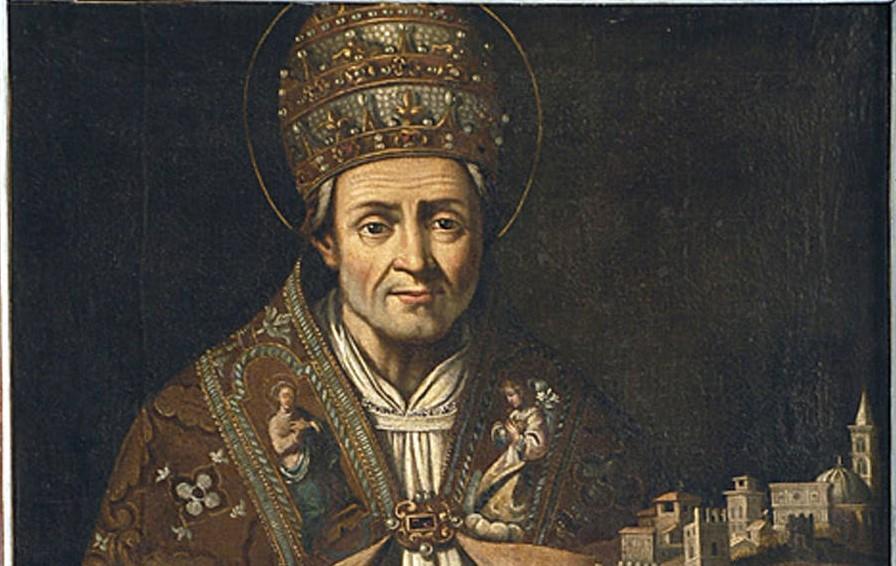 Celestino V Raviscanina - ritratto