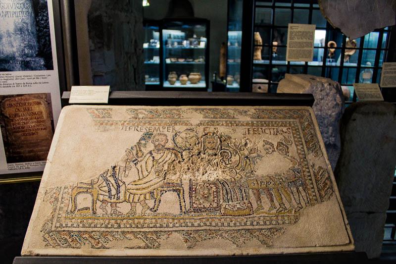 Mosaico Paleocristiano Museo Archeologico Teanum Sidicinum