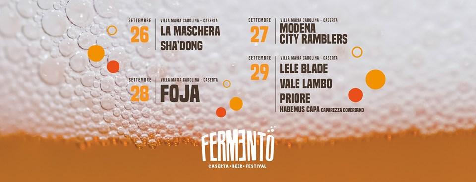 Il programma di Fermento - Caserta Beer Festival