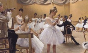 Museo in Fabula, Il Teatro Reale Danese, Paul Gustave Fischer