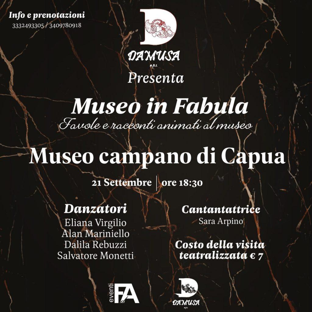 Museo In Fabula, la locandina