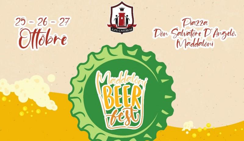 Locandina Del Maddaloni Beer Fest