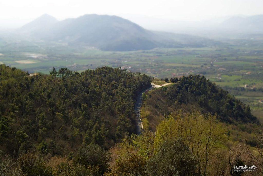 Panorama fotografato dall'alto