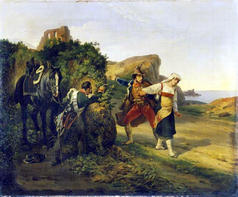 Il Brigante Tradito Horace Vernet 1830 Ciociaria