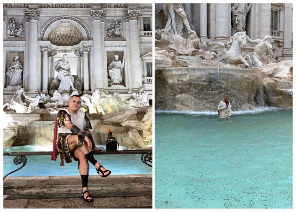 vasca della Reggia: la fontana di Trevi