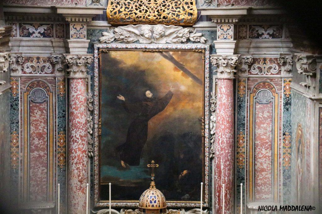 Chiesa di San Francesco ad aversa - altare