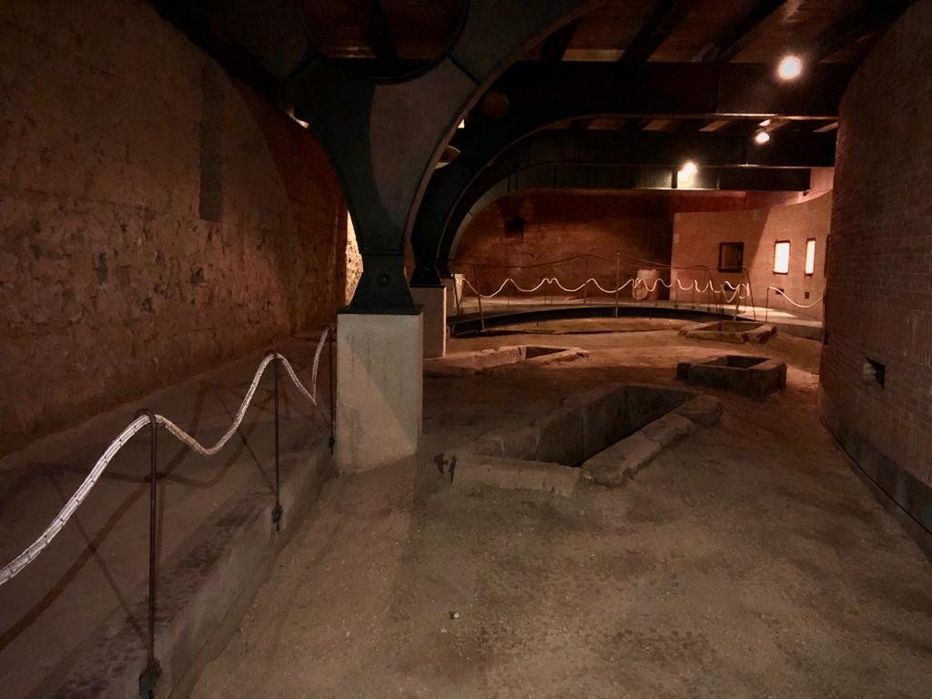 Tombe Sannitiche - la cripta