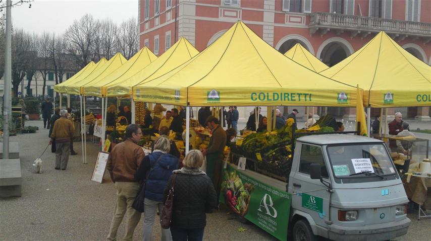 Distretto Rurale Alto Casertano, mercato Coldiretti