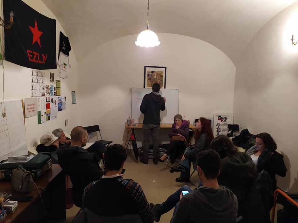 arance di villa Giaquinto: una riunione presso la sede del Comitato