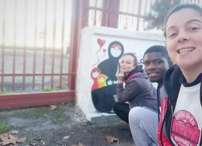 Parco Degli Aranci, selfie dei volontari