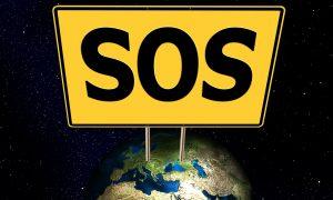 SOSteniamocaserta cartello Sos