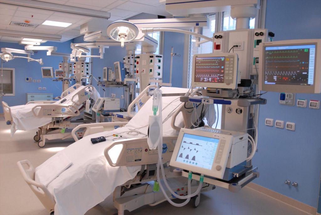 ospedale da campo - Terapia Intensiva