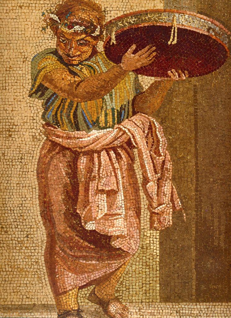 Teatro romano di teano - Ludiones di pompei