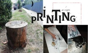 Printing At Night, la locandina
