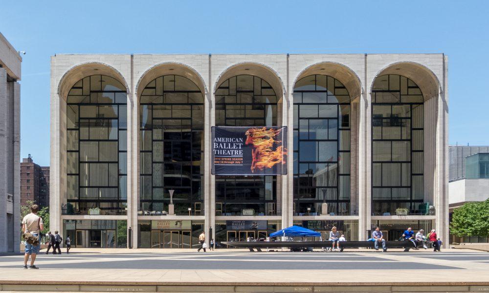 Il Metropolitan Opera - facciata
