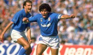 Foto di Maradona - foto RAI