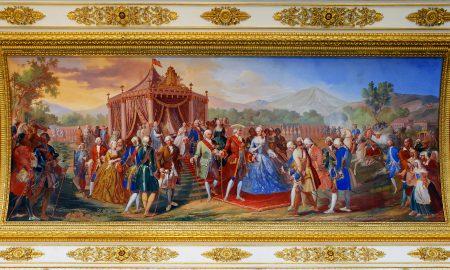 Posa Della Prima Pietra - Affresco della cerimonia
