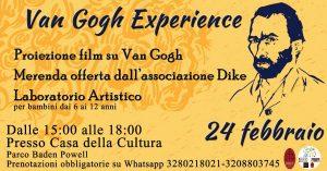 Van Gogh Experience - locandina dell'evento