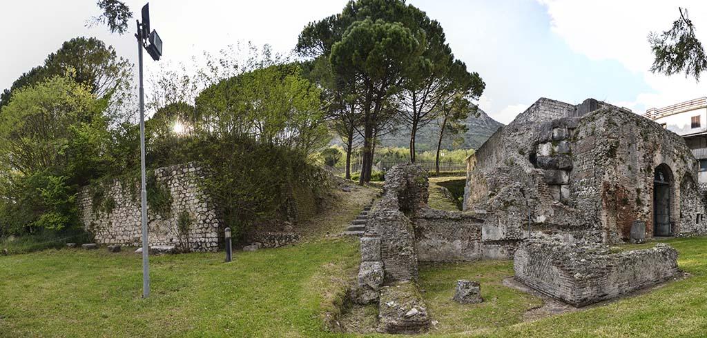area archeologica di Casinum - il Mausoleo di Cassino